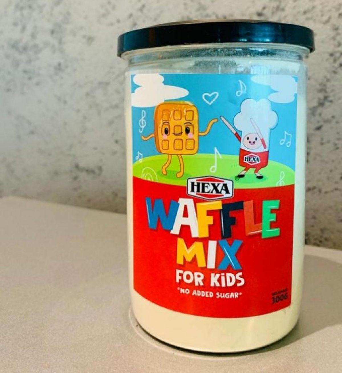 Hexa waffle mix